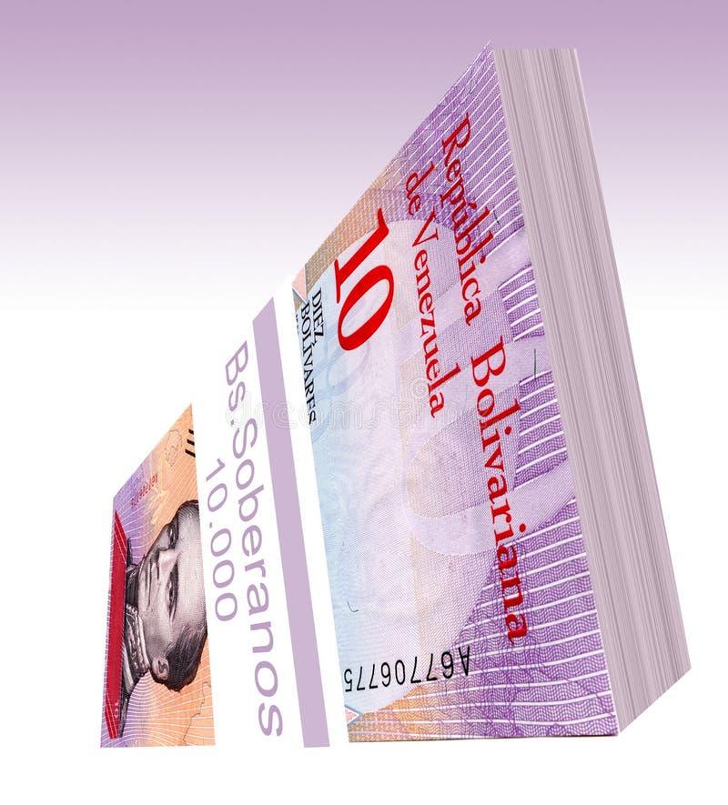 Den bolÃvar soberanoen är den huvudsakliga valutan av Venezuela efter 20 Augusti 2018 Efter det datum, har det varit tack vare by royaltyfria bilder