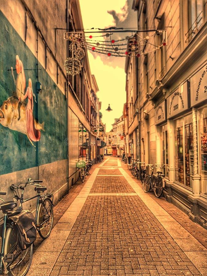 A walk through & x27;s HertogenBosch royalty free stock image