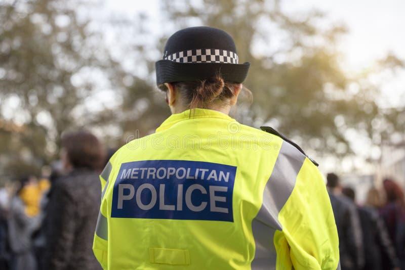 Den brittiska polisen royaltyfri bild
