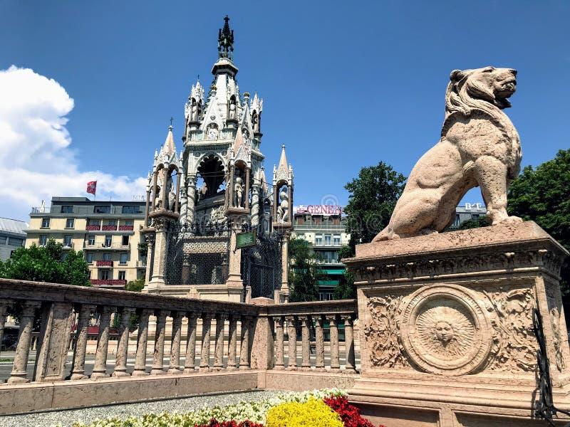 Den Brunswick monumentet royaltyfri foto