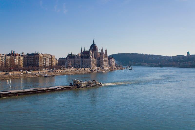 Den Budapest parlamentet royaltyfri fotografi