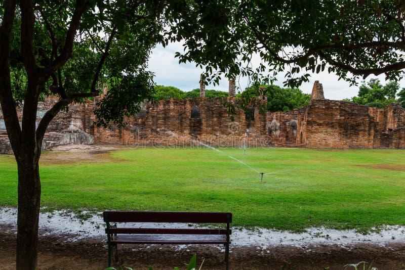 Den byggda strukturen, det berömda stället, museet som är gammalt fördärvar, Asien royaltyfria foton