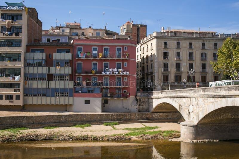 Den catalan självständigheten fotografering för bildbyråer