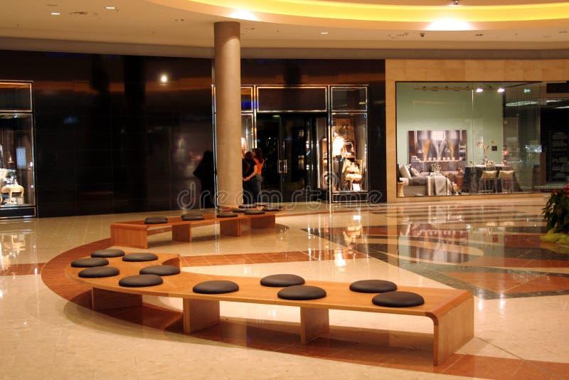 Download Den Center Interioren Shoppar Fotografering för Bildbyråer - Bild av placering, reflexion: 3545323