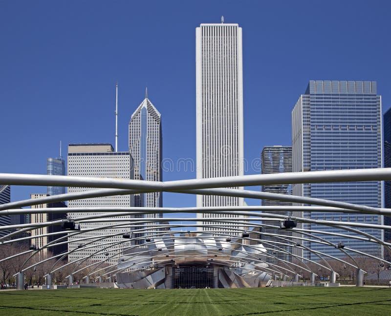 Den Chicago milleniet parkerar arkivfoton