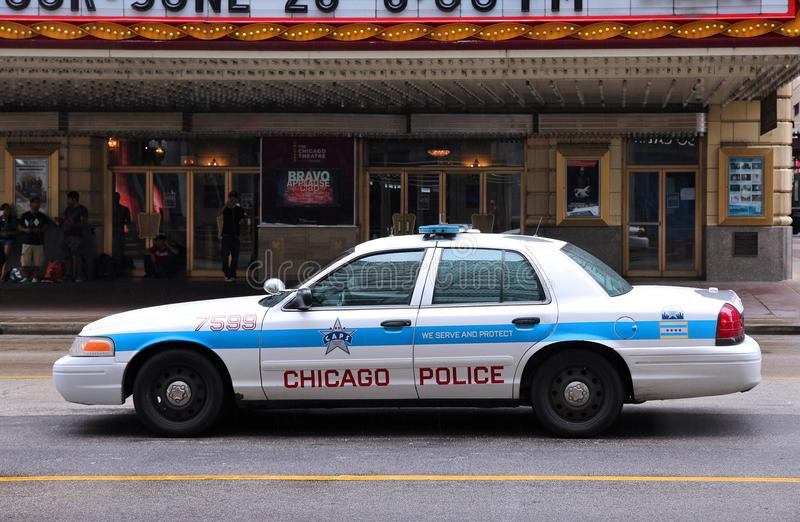 Den Chicago polisen arkivfoto