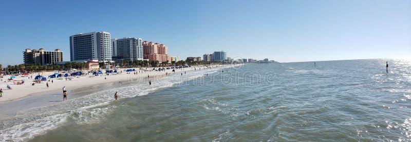 Den Clearwater stranden, röstade precis den 1 stranden i Amerika royaltyfria foton