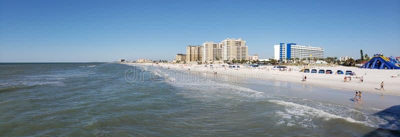 Den Clearwater stranden, röstade precis den 1 stranden i Amerika arkivfoto