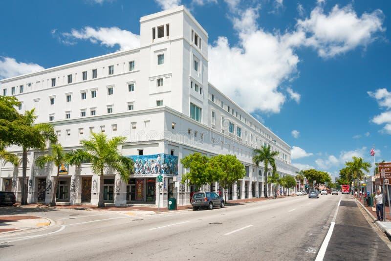 Den Cubaocho konstmitten i den lilla havannacigarren, Miami fotografering för bildbyråer