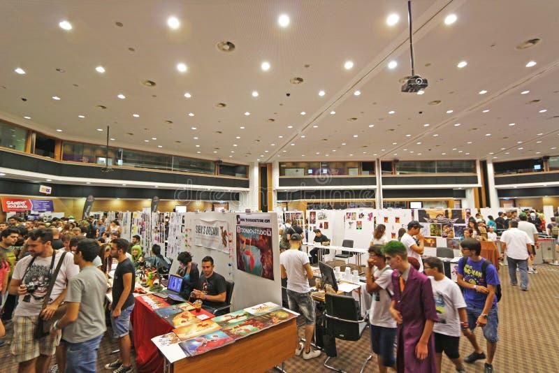 Den Cypern komiker lurar 2015 fotografering för bildbyråer