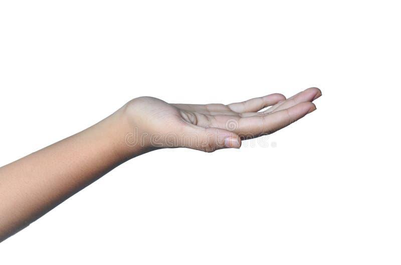 den d?liga falska gesthanden betyder nr arkivbilder