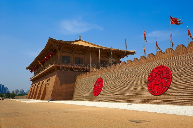 Den Daming slotten fördärvar royaltyfri foto