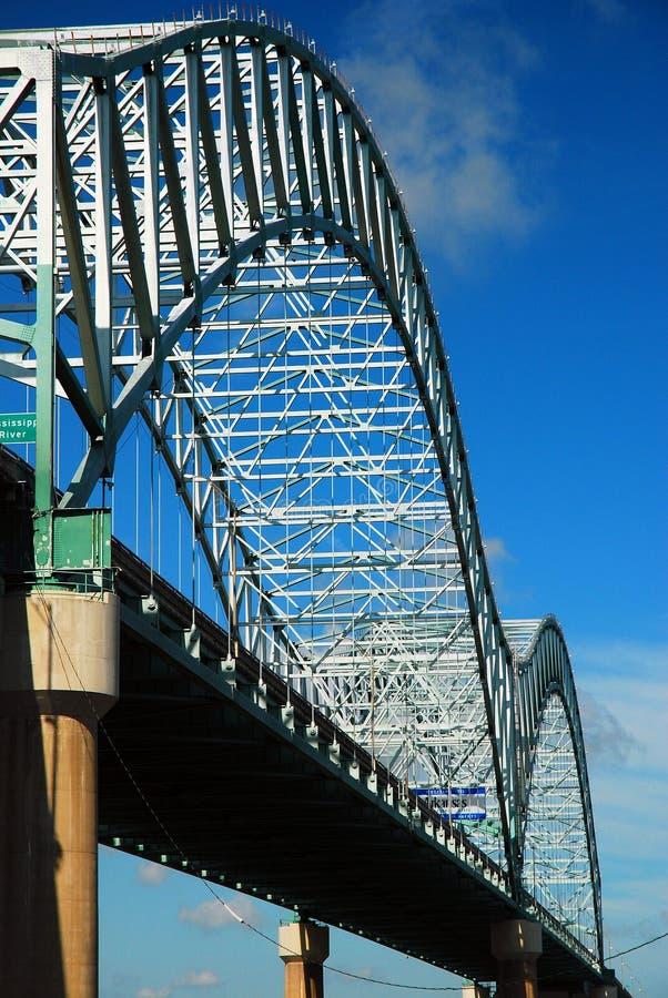 Den Desoto bron arkivfoton