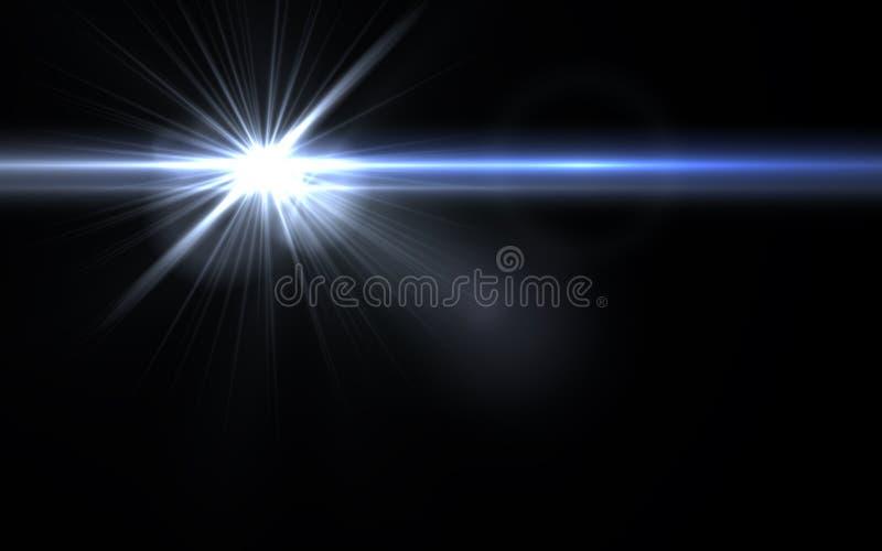 Den Digital linssignalljuset, ljusläckor, abstrakt begrepp överdrar bakgrund Bakgrund för Lens signalljusabstrakt begrepp stock illustrationer