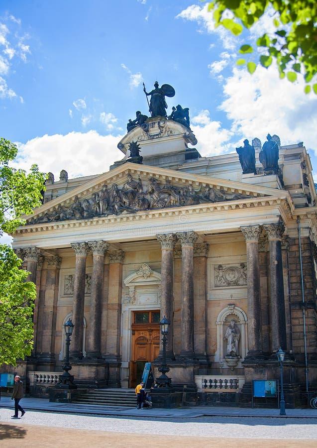 Den Dresden akademin av konster arkivbild