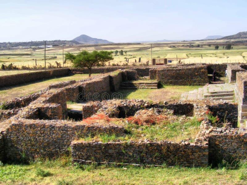 Den Dungur slotten fördärvar royaltyfria bilder