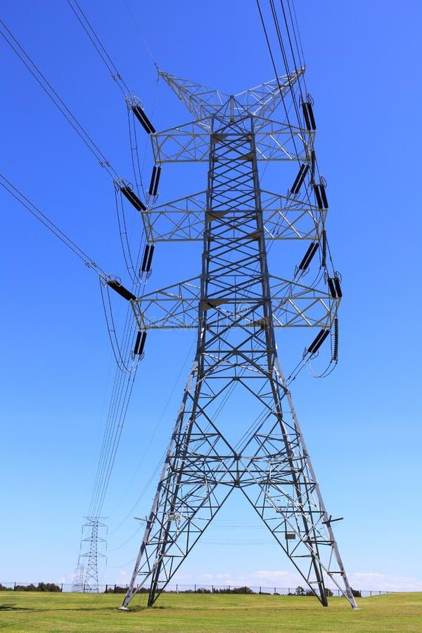 Elektriskt stå hög royaltyfri foto