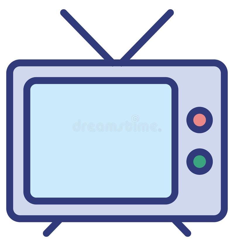 Den elektronik isolerade vektorsymbolen, som kan lätt ändra eller redigera elektronik, isolerade vektorsymbolen som kan lätt ändr vektor illustrationer