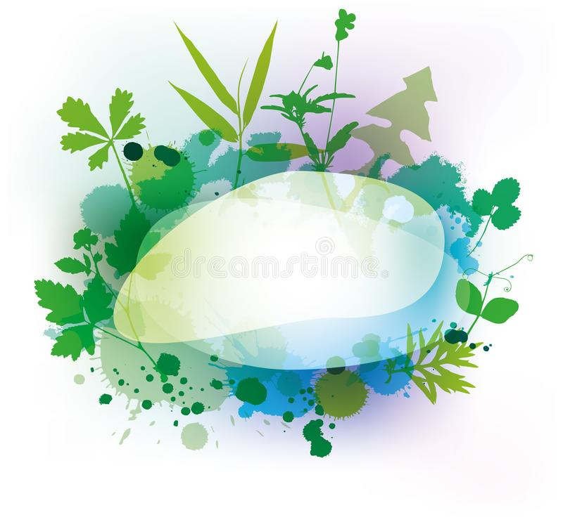 den extra redigerbara blom- formatramen för eps inkluderade vektorn vektor illustrationer