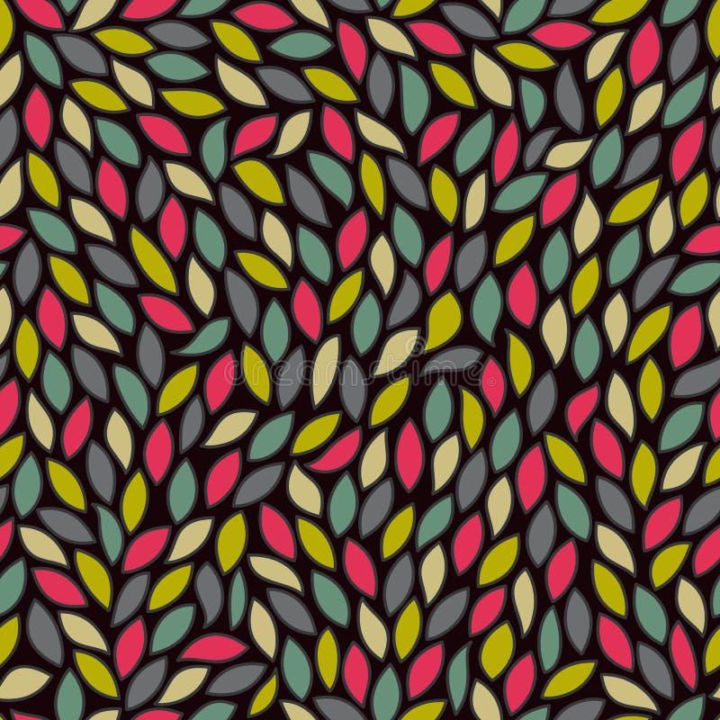 den färgade abstrakt begrepp låter vara modellen seamless stock illustrationer
