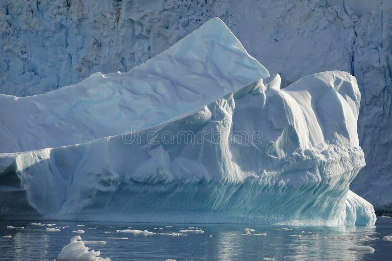 Den fantastiska landcapen av Antarktis arkivbild