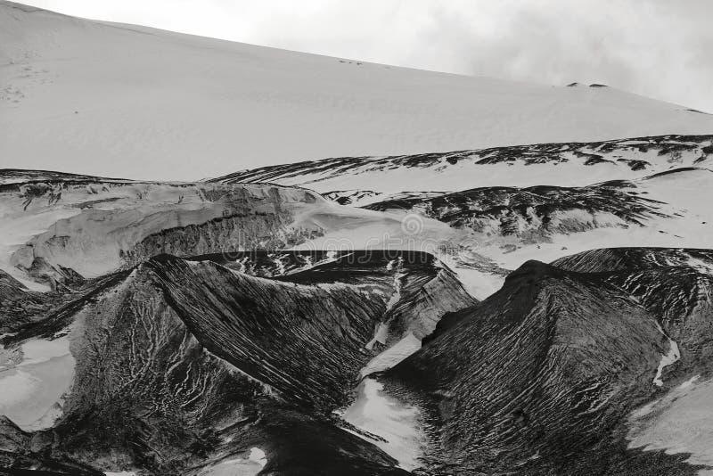 Den fantastiska landcapen av Antarktis arkivfoto