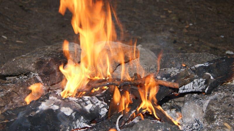 Den fascinerande eviga flamman arkivfoton