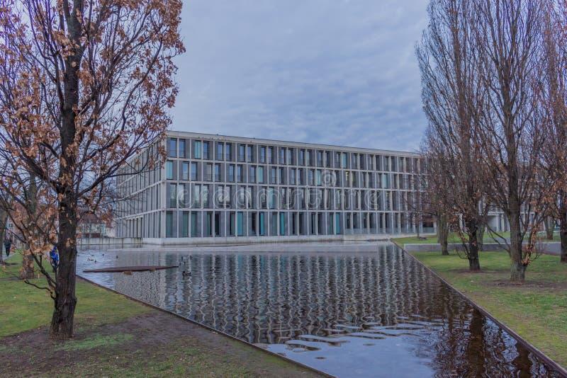 Den federala arbets- domstolen i erfurt, thuringia arkivbilder