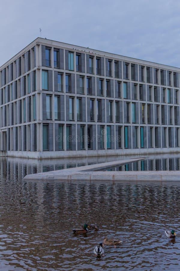 Den federala arbets- domstolen i erfurt, thuringia arkivfoton