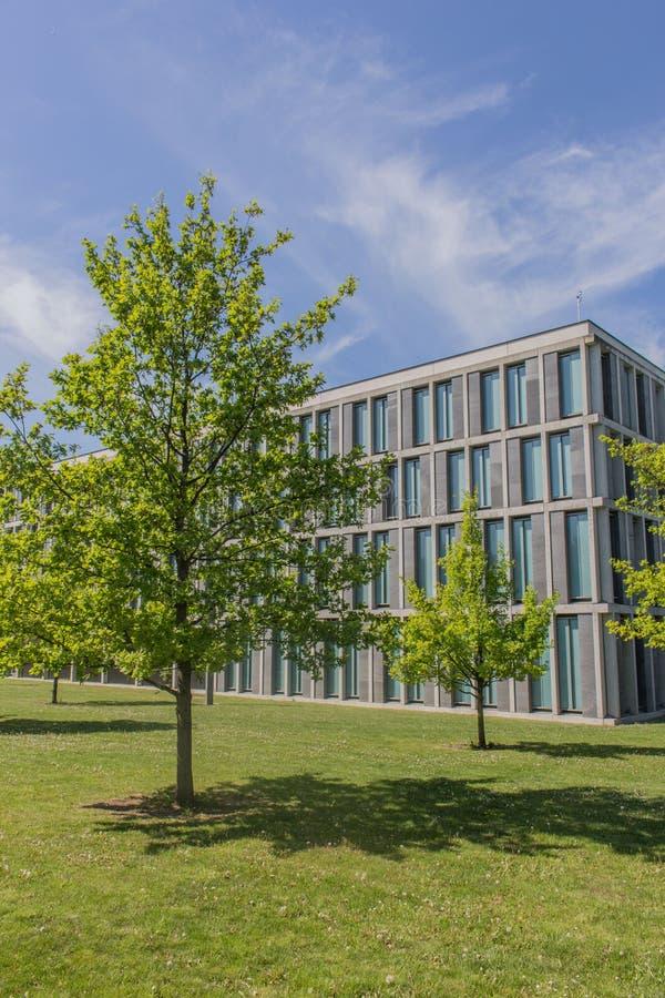 Den federala arbets- domstolen i erfurt, thuringia royaltyfri foto