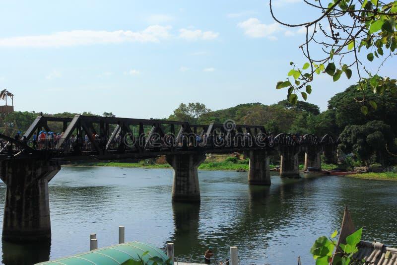Den flodKwai bron arkivbilder