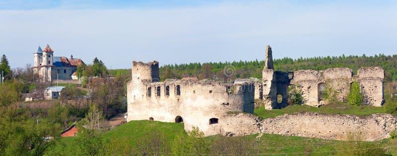 den forntida fästningen fördärvar royaltyfri fotografi