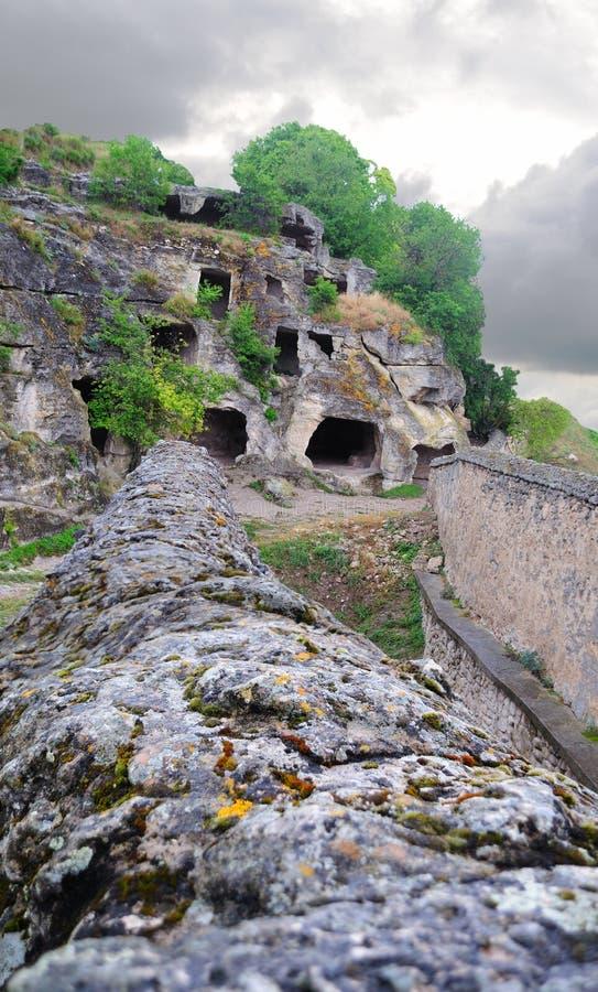Download Den Forntida Grottastaden Fördärvar Arkivfoto - Bild av medeltida, ingång: 19794862