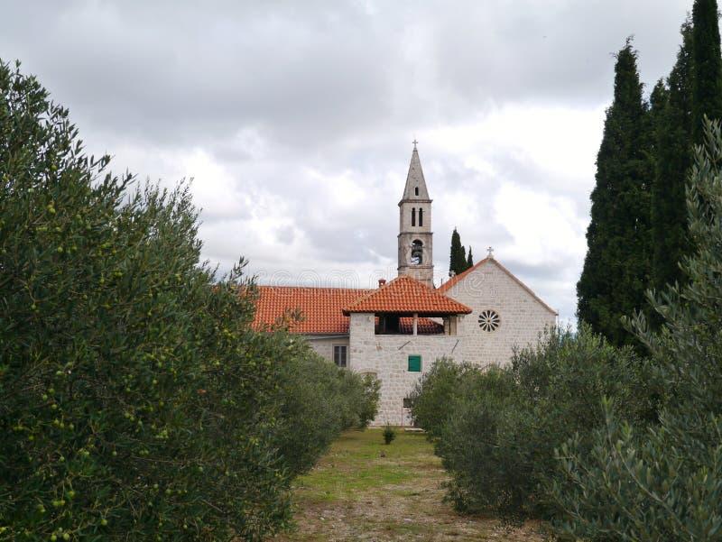 Den Franciscan kyrkan royaltyfri fotografi