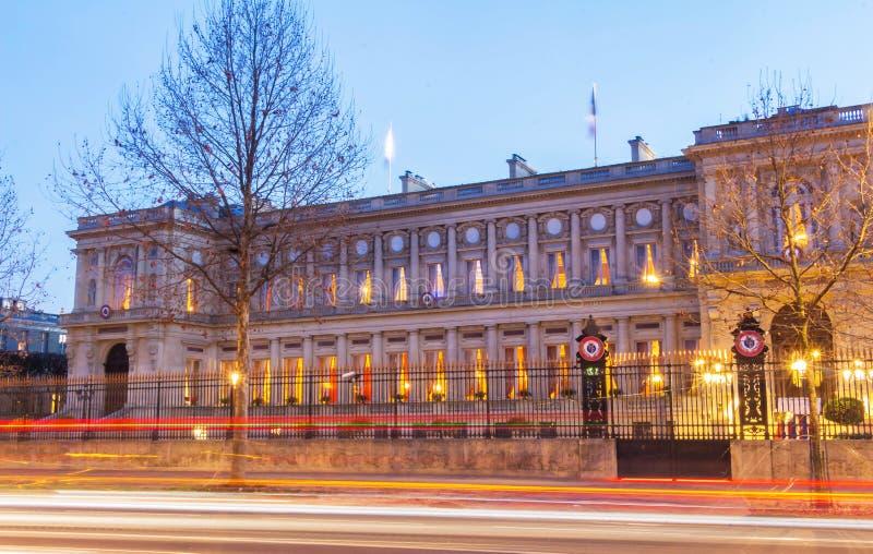 Den franska Utrikesdepartementet, Paris, Frankrike royaltyfria foton