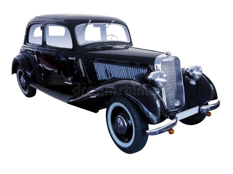 Den gamla bilen royaltyfria foton