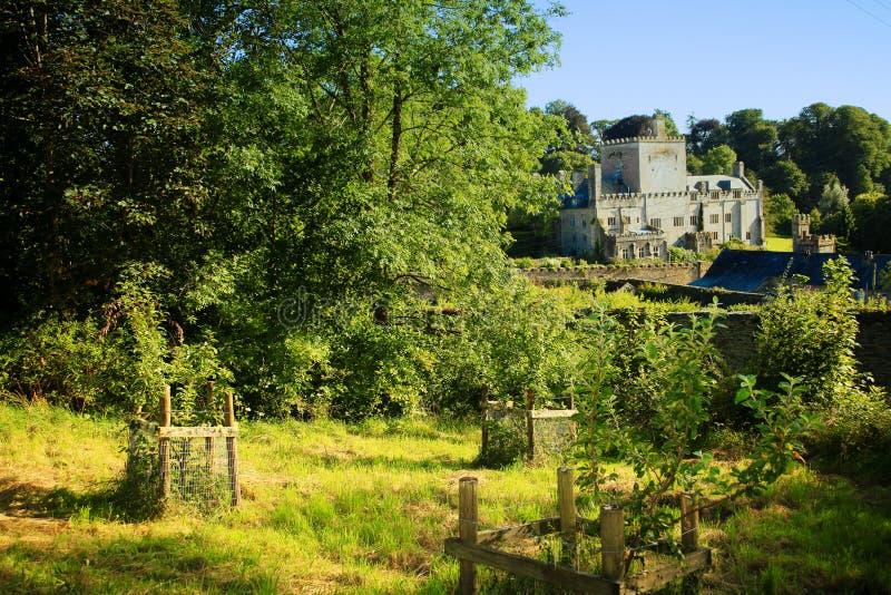 Den gamla herrgården av den Buckland abbotskloster devon royaltyfri fotografi