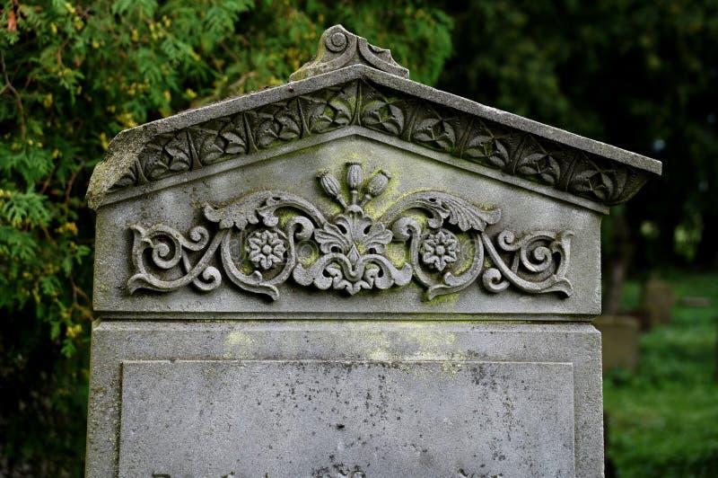 Den gamla kyrkogården royaltyfri bild
