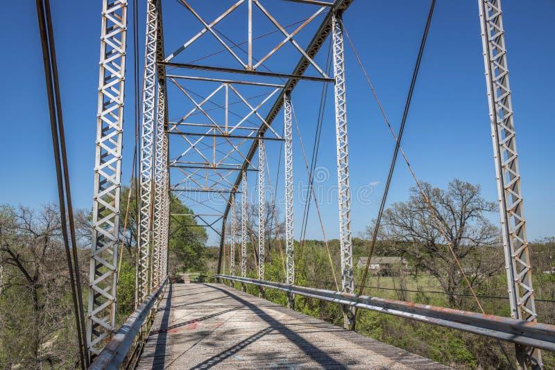 Den gamla Maxdale bron royaltyfri bild