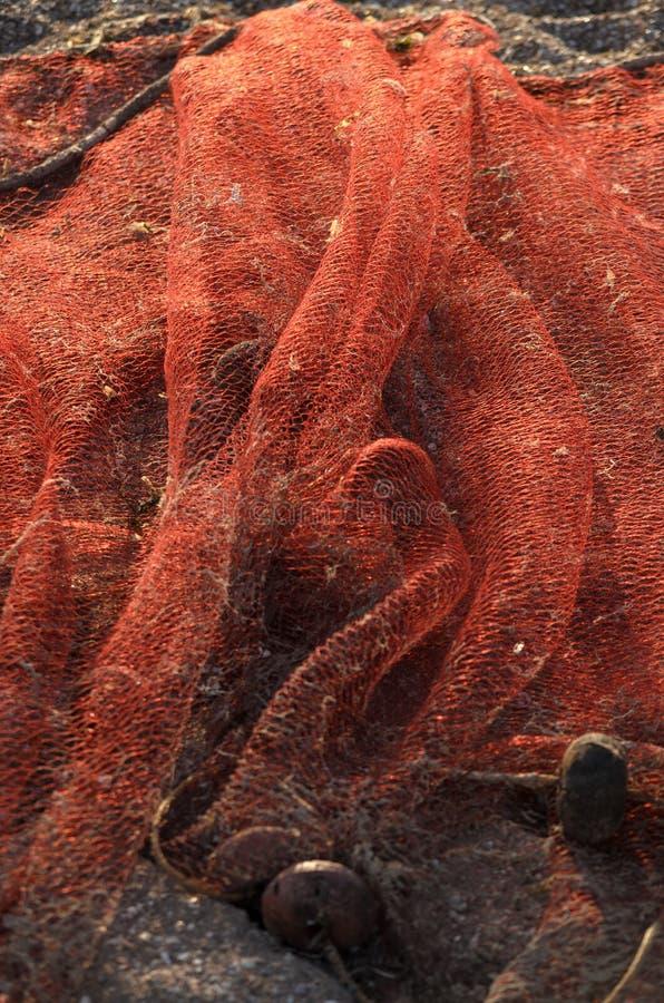 Den gamla röda fisher'sen förtjänar arkivbilder