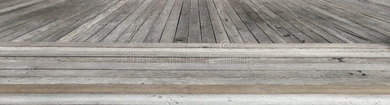 Den gamla träbakgrunden för listmodelltextur royaltyfri bild