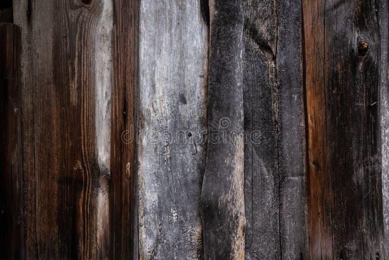 Den gamla wood texturen med naturliga modeller arkivfoton