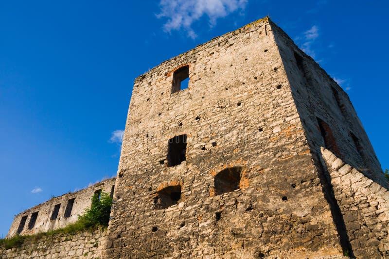 den gammala forten fördärvar arkivfoton