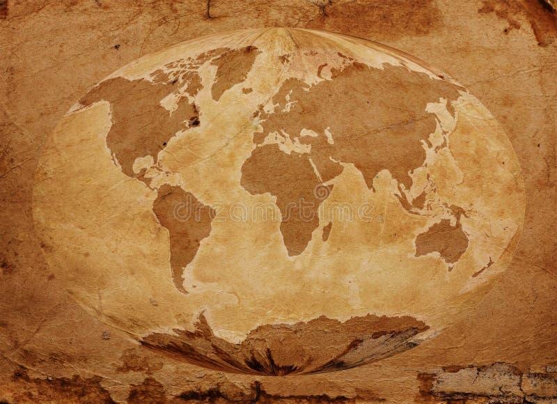 Den gammala världen kartlägger arkivfoton