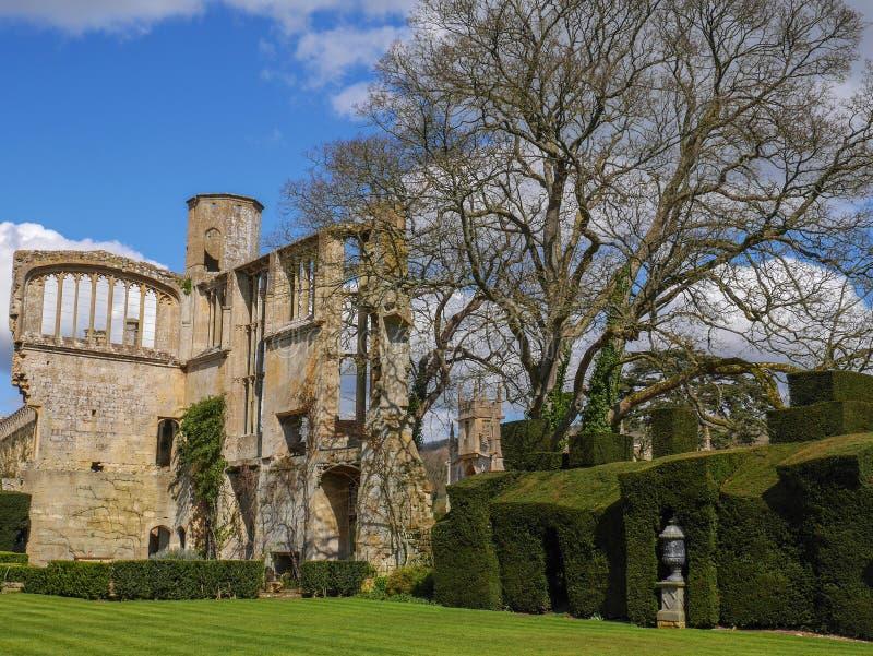 Den ge en bankett för Hall Sudeley Castle nära Winchcombe Cotswolds royaltyfri bild