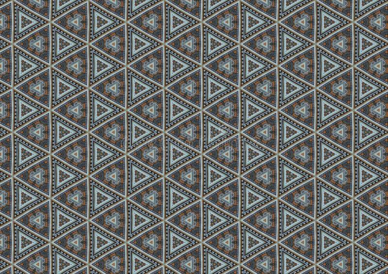 den gråa modellen shapes trianglar arkivbild