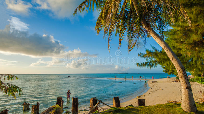 Den härliga ön av Saipan royaltyfri bild