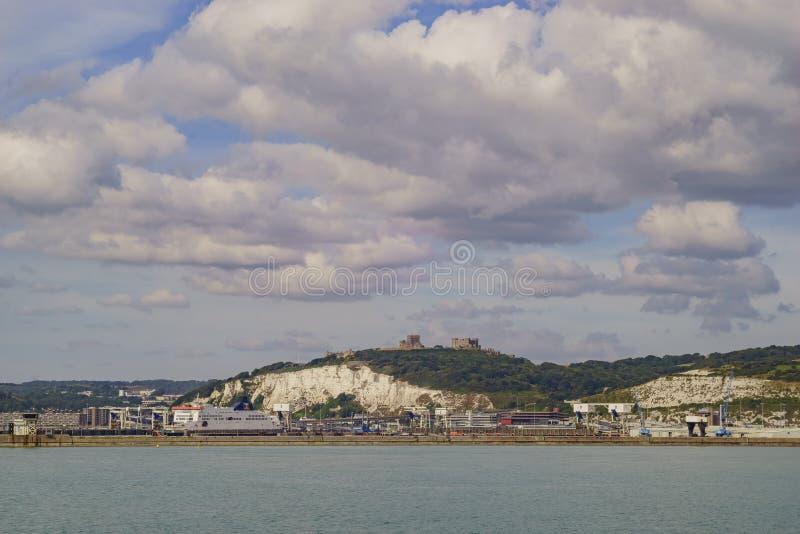 Den härliga Dover Port royaltyfri bild