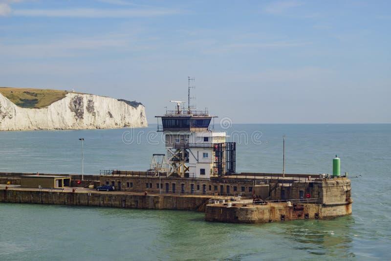 Den härliga Dover Port fotografering för bildbyråer