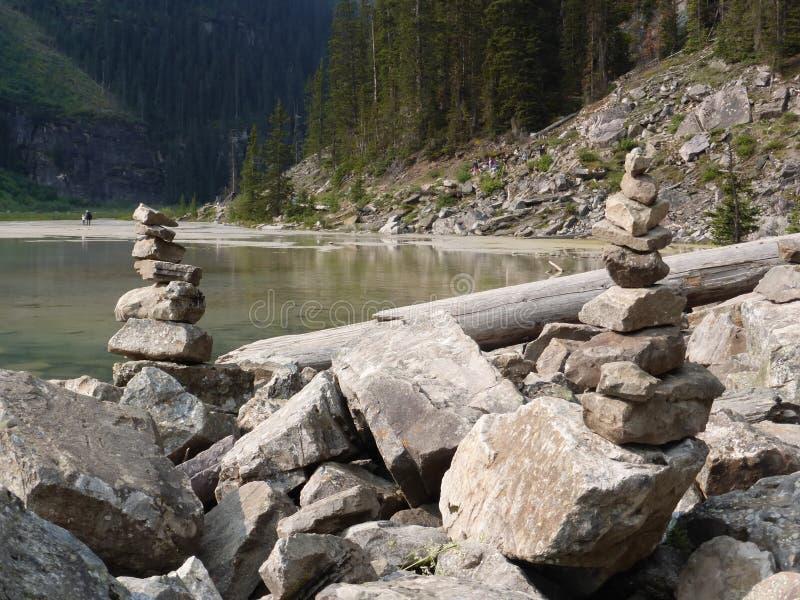 Den härliga kanadensaren Rocky Mountains arkivbilder